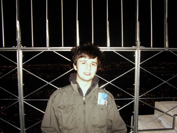 Me At The Top Of The Empire State Building