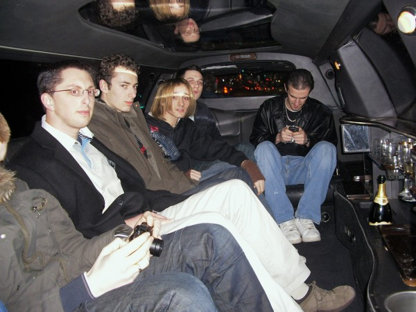 Webmasters In The Limo
