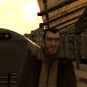 Niko walks through a train station. | Views: 1300