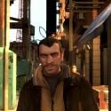 Niko walks along a street. | Views: 993