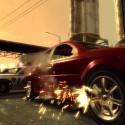 Bullets rip holes through the side of a car. | Views: 2981