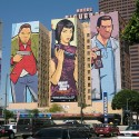 GTA: Chinatown Wars Mural in California | Views: 1953 | Added On: 06th Apr 2009 @ 23:39:42