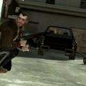 Niko takes cover behind a car | Views: 1880