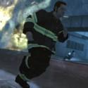 A fireman dodges Niko | Views: 2137