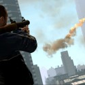 Niko fires his rocker launcher towards Algonquin. | Views: 2397