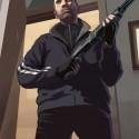 Niko standing with a shotgun. | Views: 1296