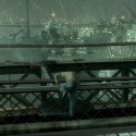 Niko climbing on the Broker Bridge. | Views: 2519
