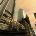 A large sign amongst sky scrapers reads 'Liberteen'. | Views: 1308