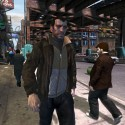 Niko Bellic makes his way through pedestrians in the busy city. | Views: 4001 | Added On: 15th Aug 2007 @ 15:17:12