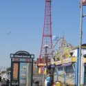 The historic Coney Island Parachute Drop | Views: 790
