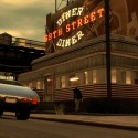 Niko drives past the 69th street diner as a man walks out. | Views: 2488