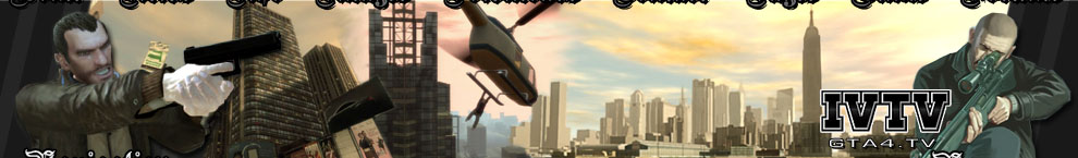 GTA4.TV - Your Source For GTA IV! - Monday Banner!